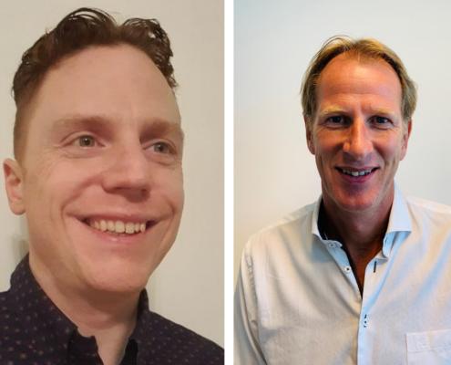 Nieuwe medewerkers Caesar Experts - Maarten & Cees