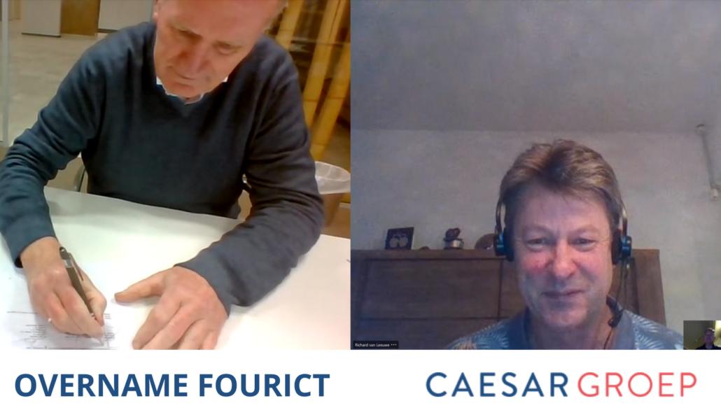 Caesar Groep - overname FourICT - tekenmoment