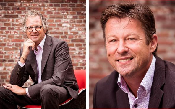 Henk van Ewijk en Richard van Leeuwe van FourICT