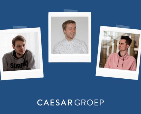 Trainees bij Caesar